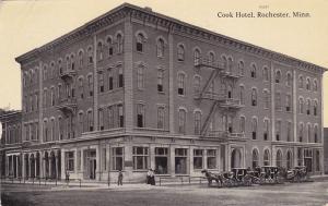 ROCHESTER , Minnesota , 1912 ; Cook Hotel