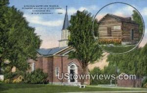 Lincoln Marriage Temple Harrodsburg KY Unused