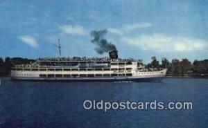 SS Mount Vernon, Washington DC, USA Steam Ship 1965 light wear, postal used 1965
