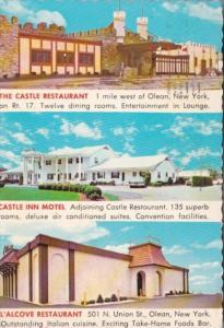 The Castle Restaurant Olean New York 1973