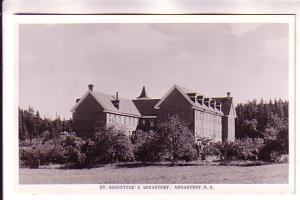 Real Photo, St Augustine's Monastery Side of Main Building, Nova Scotia, Cana...