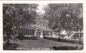 RP: PRAIRE DU CHIEN , Wisconsin, 30-40s : Villa Louis