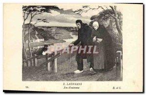 Postcard Old E Laermans Late Fall