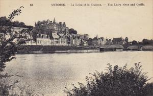 AMBOISE, The Loire River and Castle, Indre et Loire, France, 00-10s