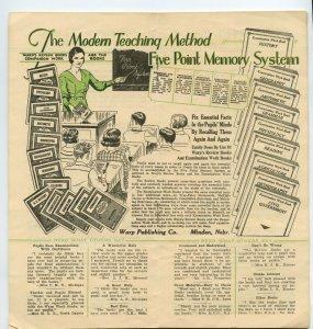 Treasured Verses Warp Publishing Company Minden Nebraska Vintage Booklet