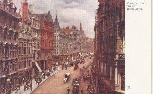 Corporation Street. Birmingham.Cart Horse  TuckOilette PC  # 1452