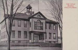 Maine Phillps High School Building