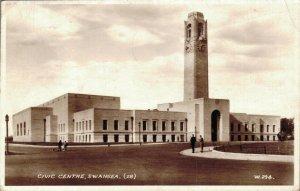 UK Wales Civic Centre Swansea 03.75
