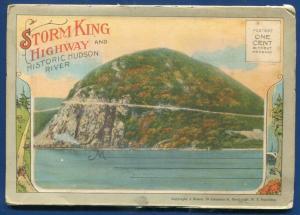 Storm King Highway New York #3 Postcard Folder