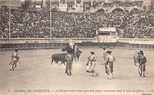 Course De Taureaux, Tarjeta Postal, Bullfighting Unused