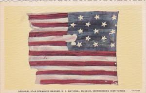 Original Star Spangled banner U S National Museum Smithsonian Institution Cur...
