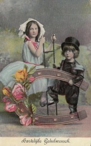 NEW YEAR , 00-10s ; Chimney Sweep & Girl