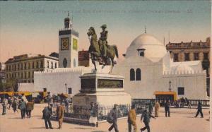 Algeria Alger La Statue Du Duc D'Orleans