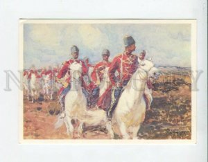 d3095812 RUSSIA Imperial Cavalrymen by RUBO old color PC