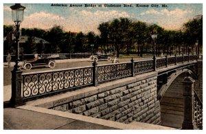 Missouri Kansas City Anderson Avenue Bridge at Gladstone Blvd.