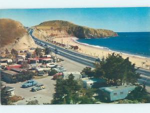Pre-1980 BEACH SCENE Between Newport Harbor & Laguna Beach California CA AE9227