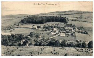 Aerial View  of Franklinton New York