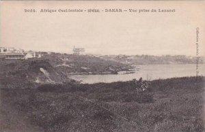 Senegal Dakar Vue prise du Lazaret