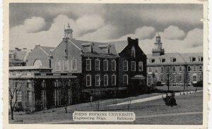 BALTIMORE, MD , 1930s ; Johns Hopkins University ; Engineering Bldgs