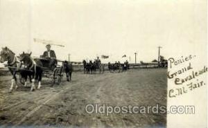 Real Photo Ponies Grand Cavaleade C.M Fair, St. Paul Minn USA?  Horse Horses,...