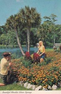 Beautiful Floridas Silver Springs 1970s Camera Photographer Postcard