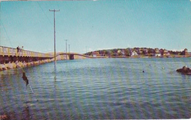 Maine Bailey Island Bridge 1957