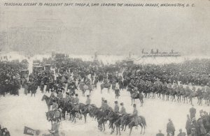 WASHINGTON D.C. , 1909 ; Inauguration Parade Escort for Taft