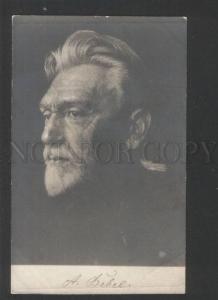119428 BEBEL Social Democratic German Politician PHOTO vintage