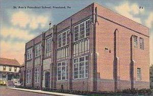 Pennsylvania Freeland St Anns Parochial School
