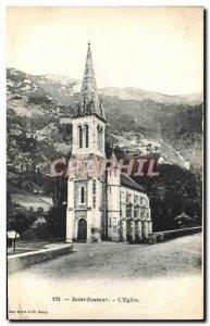 Postcard Old Saint Sauveur L & # 39Eglise