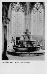 Heiligenkreuz Alter Bleibrunnen Fountain