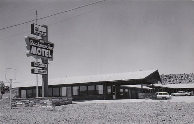 The Coachman Inn Motel Real Photo