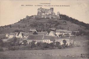 France Murols Le Chateau Vue prise de la Route de St-Nectaire