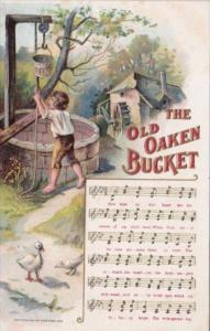 Song Card The Old Oaken Bucket