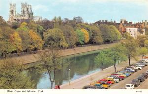Yorkshire Postcard, River Ouse and Minster, York Y71
