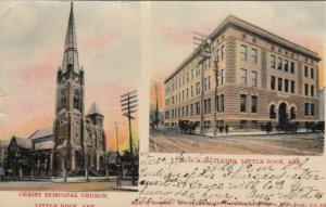 LITTLE ROCK , Arkansas , 1906 Church & Y.M.C.A.