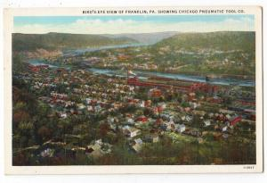 Birds Eye View,Chicago Pneumatic Tool Co., Franklin PA