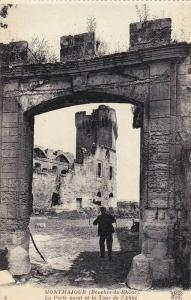 La Porte Ouest Et La Tour De l'Abbe, Montmajour (Bouches du Rhone), France, 1...