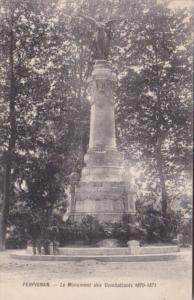 France Perpignan Le Monument des Combattants 1870-1871