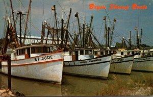 Mississippi Bayou Shrimp Boats