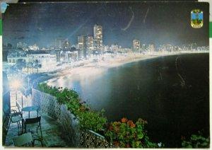 Spain Benidorm Playa de Levante - posted 1973