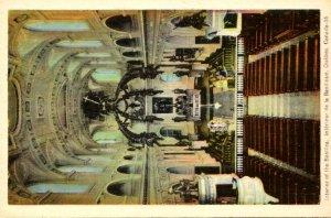 Canada Quebec Interior Of The Basilica