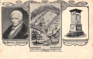 Frankfort Kentucky Boone Monument Multiview Antique Postcard K80892