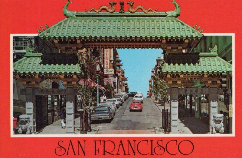 San Francisco Postcard street View