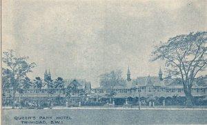 Vintage Postcard 1910's Queen's Park Hotel Trinidad BWI