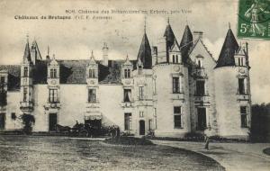 CPA Chateau des Nétumiéres en Erbrée - Chateaux de Bretagne (111864)
