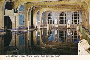 California San Simeon Hearst Castle The Roman Pool