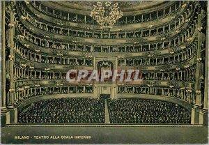 Modern Postcard Milano Scala Theater (Interior)