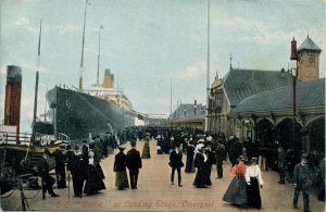 UK - England, Liverpool. SS Celtic at Landing Stage