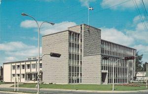 Edifice Provincial, Drummondville, Quebec, Canada, 40-60s